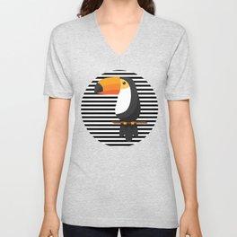 TOUCAN tropical toucans Unisex V-Neck
