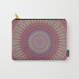 Psychedelic Star Mandala Carry-All Pouch