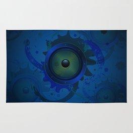 Grunge loudspeaker Rug