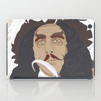 hook iPad Cases featuring HOOK by Itxaso Beistegui Illustrations