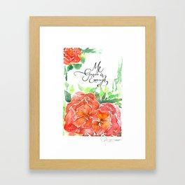 Sweet Aquarelle Framed Art Print