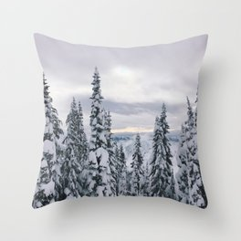 Waist Deep Throw Pillow
