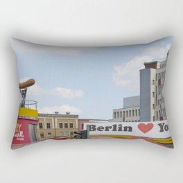 Berlin Love You Rectangular Pillow