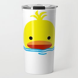 duck in the water Travel Mug