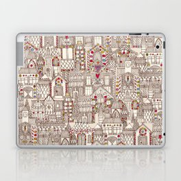 gingerbread town Laptop & iPad Skin