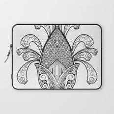 Cincalco art from the exican underworld. Laptop Sleeve