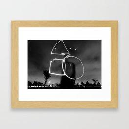 The Equation Framed Art Print