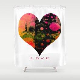 My Heart, My Love Shower Curtain