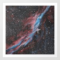 outer space Art Prints featuring Outer Space by Studio 502