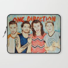 One Direction, Louis, Niall, Liam, Harry, Singer Laptop Sleeve