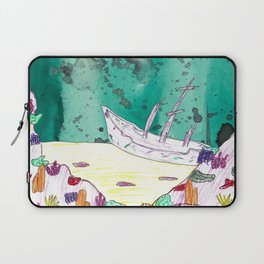 Ship Wreck Laptop Sleeve