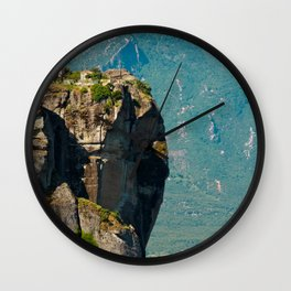 Greece Monastery Wall Clock