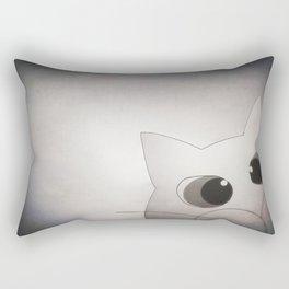 Happy New Year cat 209 Rectangular Pillow