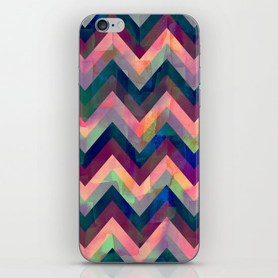 Painted Chevron iPhone & iPod Skin