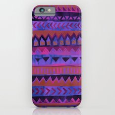 PATTERN {Tribal Stripe- Purple} iPhone 6s Slim Case