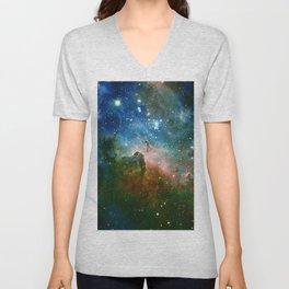 Hidden Secrets of Carina Nebula Unisex V-Neck