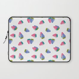 Watercolor Strawberry Toss Laptop Sleeve