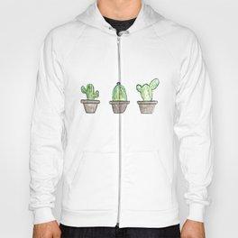 3 types of cactus Hoody