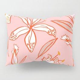 Lilies Warm Pillow Sham