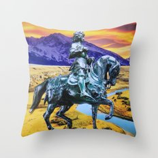 Dream of Horses Throw Pillow