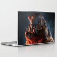 gorilla Laptop & iPad Skins featuring Gorilla by Kirk Pesigan