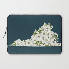 Virginia in Flowers Laptop Sleeve