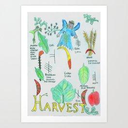 Harvest Energy Art Print