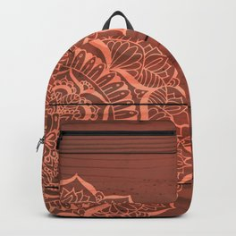 Wood Panel Mandalas Backpack