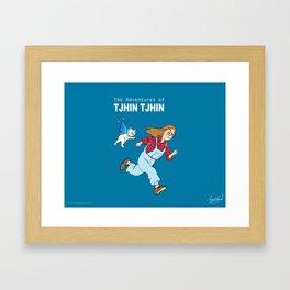 The Adventures of Tjhin Tjhin Framed Art Print