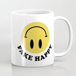 Fake Happy Smile Coffee Mug
