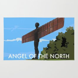 Angel of the North Rug