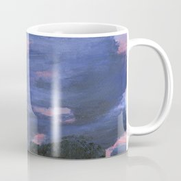 Cloudy Sunset Painting Coffee Mug