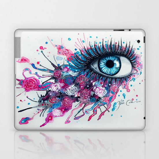 """Midnight Rose"" Laptop & iPad Skin"