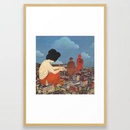 Cyclothymia Framed Art Print