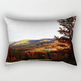 Beaver Valley Art Decor. Rectangular Pillow