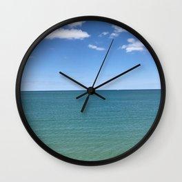 Lake Michigan (Scene 3) Wall Clock