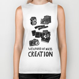 Weapons Of Mass Creation - Photography (clean) Biker Tank