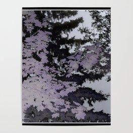 Purple Trees Landscape | Nadia Bonello | Canada Poster
