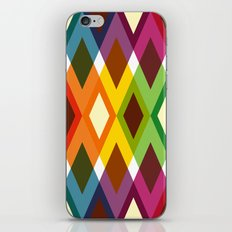 Squares & Colours iPhone & iPod Skin