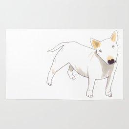 Bull Terrier Rug