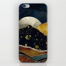 Bronze Night iPhone Skin