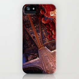 Looking Up - Albi Cathedral iPhone Case
