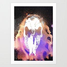 Cthulu's Skull Art Print