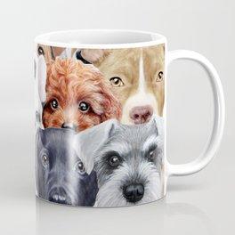 Dog All start, Dog illustration original painting print Coffee Mug