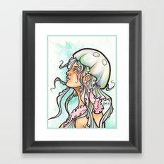 The Jellyfish Framed Art Print