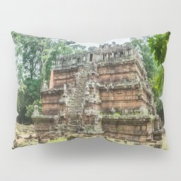 Phimeanakas Temple of Angkor Thom, Siem Reap, Cambodia Pillow Sham