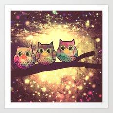 owl-945 Art Print