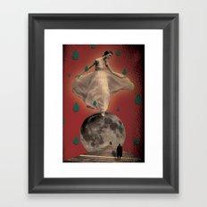 muerte Framed Art Print