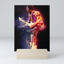 The jimi Hendrix experience Mini Art Print