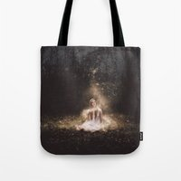 fairies Tote Bags featuring Fairies by LauraWilliams95